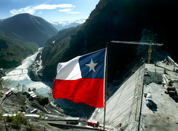 Cavi speciali diga in Cile